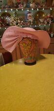Vintage Rhinestone Bow George Zamaul New York Pink Hat