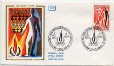 Enveloppe FDC 1er Jour - Déclaration Universelle des Droits de l'Homme 1973