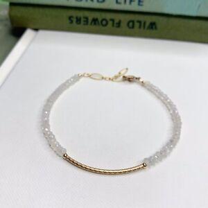 Moonstone 14K Gold Filled Handmade Sundance Garden Bracelet