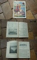 1932 SCOTLAND THE ROYAL ROUTE TIMETABLE MAGAZINE, 60+ PAGES, RAILWAY SHIPPING