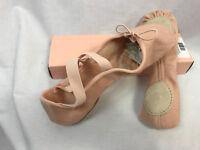 Bloch S0282L Zenith Canvas Split-Sole Pink Ballet Shoes Womens Size 7 D  New
