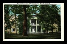 THE HERMITAGE HOME OF PRESIDENT JACKSON NASHVILLE TENNESSEE US POSTCARD