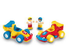 WOW TOYS Turbo Twin, 12mons+, hassle free, eco friendly Pack!