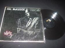 HAL MCKUSICK: The Jazz Workshop LP Mono Jazz VG PLAY COPY TESTED PLAYED GREAT