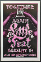 Little Feat Concert Poster 1988 Austin