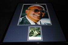 Telly Savalas Signed Framed 16x20 Photo Poster Display RR LOA Kojak