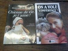 Monique Brossard Le Grand Chienne de vie je t'aime + On a volé Conférence