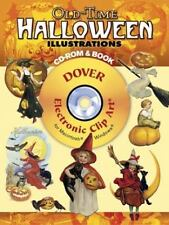 Old-Time Halloween Illustrations CD-ROM and Book: By Grafton, Carol Belanger