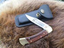 VTG ALCOA BUCK 110 T KNIFE 4 DOT with SHEATH Hunting Skinning Fishing