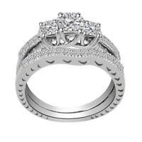 Bridal Wedding Engagement Ring SI1 G 1.10 Ct Round Diamond White Gold Appraisal