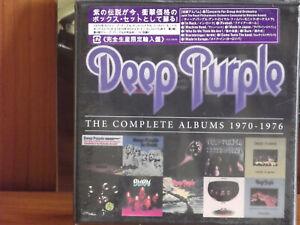 DEEP PURPLE 10 CD-Box The Complete Albums 1970 - 1976 Japan-Edition Sealed Neu