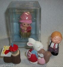 Hallmark MERRY MINIATURES LOT VALENTINE'S DAY Happy Hatters Rosie Paint Can Tree