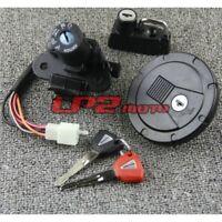 Zündschloss Tankdeckelschlüssel Set für Kawasaki KLX250S KLX250SF 2009-2014
