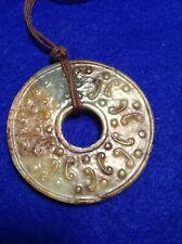 Chinese Ming / Qing Dynasty Antique Jade Bi / Pendant