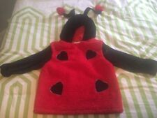 Halloween Lady Bug Plush Costume Child Large