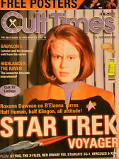 CULT TIMES EDITION 39 - Star Trek - Babylon 5 - Highlander - FREE POSTER - CT25
