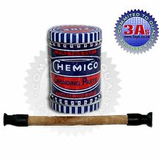 CHEMICO VALVE GRINDING KIT SET-LAPPING STICK TOOL+COARSE & FINE GRADE PASTE 110g