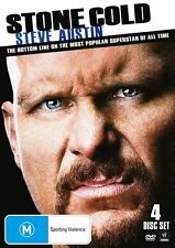 WWE - Stone Cold Steve Austin (DVD, 2011, 4-Disc Set) - Region 4