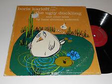 BORIS KARLOFF reads The Ugly Duckling Caedmon TC 1109 album Princess & Pea