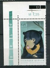 ALLEMAGNE DDR 1970 timbre 1311, ANIMAUX, OURS MALAIS, neuf**