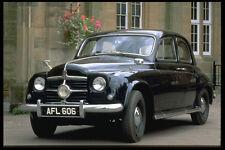 354076 Rover P4 75 berline 1951 A4 papier photo