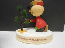 2011 Hallmark Peanuts Gallery Charlie Brown Christmas Tree in Box