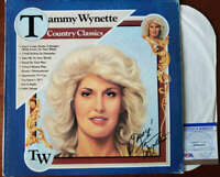 Tammy Wynette PSA DNA Coa Signed Country Classics Album w/ Vinyl Autograph