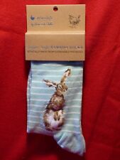 """Wrendale Bamboo Socks """"THE HARE AND THE BEE"""" with FREE gift bag"""