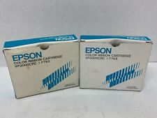 *NEW* *LOT OF 2* EPSON COLOR RIBBON CARTRIDGE VP3000CRC #7763