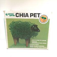 Vintage Chia Pet Green Garde Bull Chia Pet NIB Unused Complete NOS