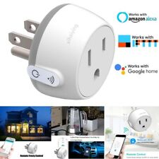 Smart WiFi Plug Outlet Swtich work with Echo Alexa Google Home APP Remote