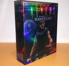 Hot Toys Movie Masterpiece MMS24 Aliens USCM Mark Drake 1/6 Action Figure NEW