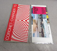 1973 Coronet Charger Owners Owner's Manual Original with Sleeve