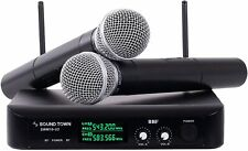 Microfonos Inalambricos Profesionales Microfonos Gtd Profecional Systema Karaoke
