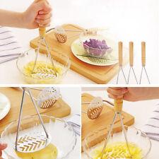 Kitchen Stainless Steel Potato Egg Masher Ricer Vegetable Fruit Crusher Tool Hot