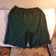 UNDER ARMOUR BASKETBALL SHORTS - LARGE - THROWBACKS - GREEN