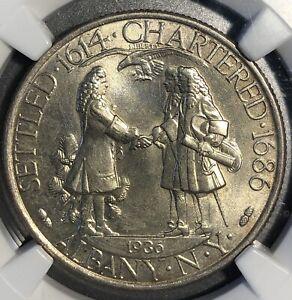 1936 Albany Commemorative Half Dollar MS65 NGC.
