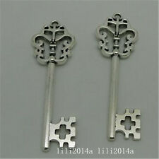 8pc Tibetan Silver key Charm Beads Pendant accessories wholesale PL1021