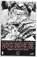 Redneck 1 Donny Cates Skybound C2E2 Variant Sketch NM Convention Exclusive Image