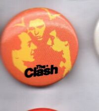 THE CLASH - BUTTON BADGE UK PUNK ROCK BAND - LONDON CALLING 25mm