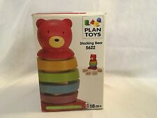 Plan Toys Stacking Bear, Wooden #5622