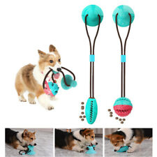 Pet Bite Dog Molar Toys Suction Cup Dog Chew Toy Food Dispenser Teeth Cleaning
