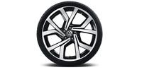 Original VW Volkswagen Alufelgen Design Brescia 19 Zoll Golf 7 VII NEU (1 Stück)