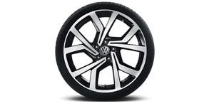 VW Polo GTI! Alufelge Brescia 18 Zoll/schwarz glanz - 2G0601025ACFZZ NEU!1 Stück