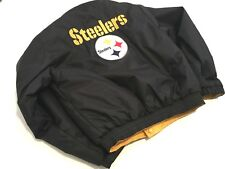 BOY'S NFL PITTSBURGH STEELERS REVERSIBLE COAT Size M