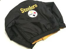 ff140f75824e BOY S NFL PITTSBURGH STEELERS REVERSIBLE COAT Size M