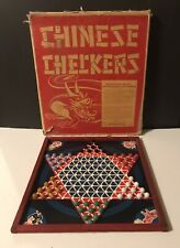 Antique Chinese Checkers, Made In Canada.