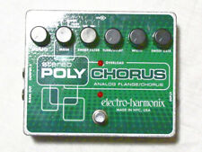 Used Electro-Harmonix EHX Stereo Polychorus Analog Chorus Flanger Guitar Pedal