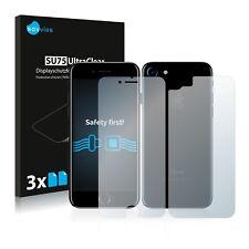 6x Displayschutzfolie für Apple iPhone 7 / 8 (Vorder + Rückseite) Schutzfolie