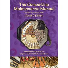 The Concertina Maintenance Manual Book - David D Elliott